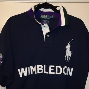Ralph Lauren Wimbledon Polo | Blue | XXL